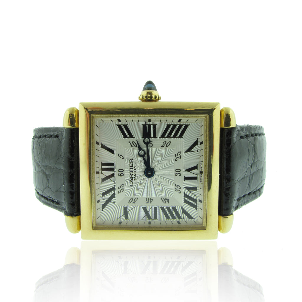18K Y/G Limited Edition Cartier Paris Tank Obus