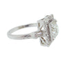 Vintage Platinum and W/G Diamond Ring