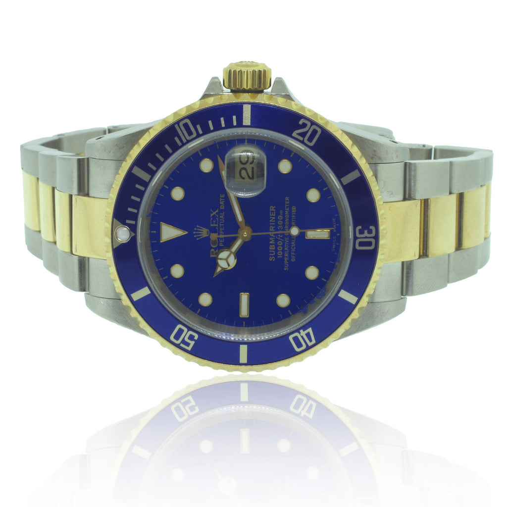 18K Y/G and S/S Rolex Submariner Reference: 16613