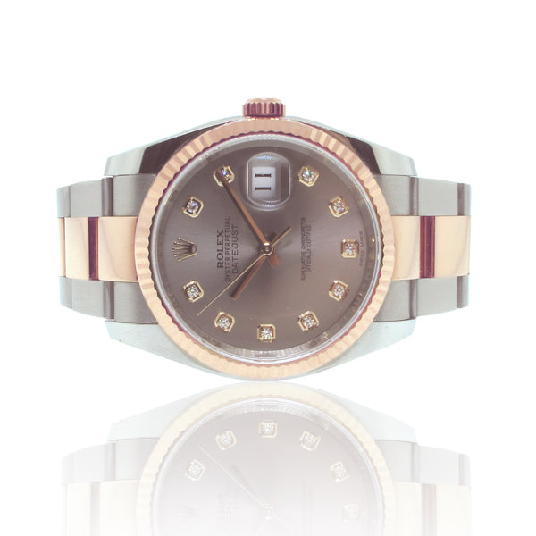18K Pink Gold and S/S Rolex Datejust Ref: 116231