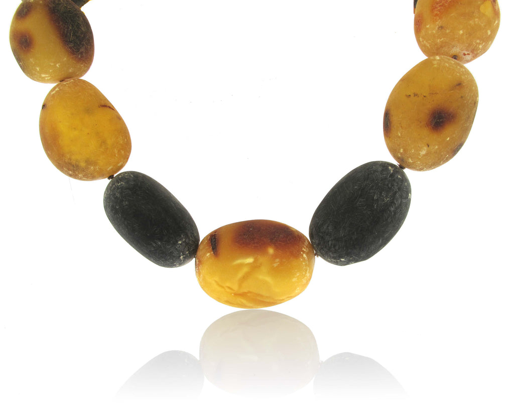 Graduated Baltic Amber Toggle Clasp 25