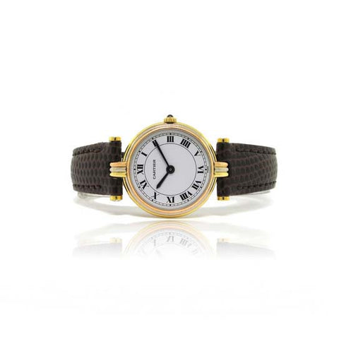 Cartier 18kt Trigold Watch