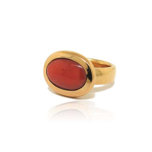 14k Rose Gold Morro Coral Ring