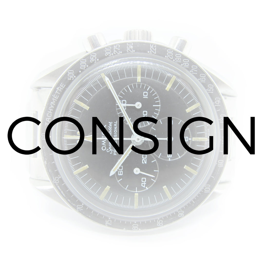WE CONSIGN WATCHES