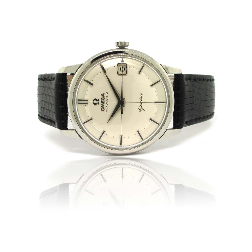Omega Automatic Genève Cross-Hair Dial