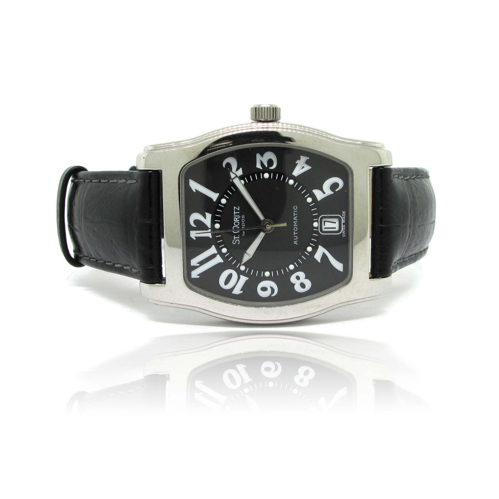 St. Mortiz Tonneau Wristwatch