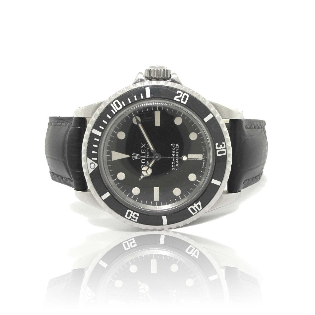 Rolex Vintage Submariner on Leather Strap year 1966