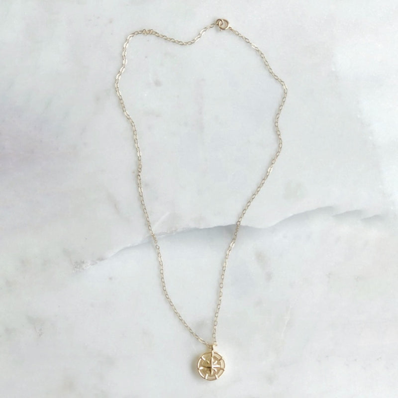 The Navigator Necklace 2.0 - Gold Filled-Necklace-Alexandra Kathlyn Accessories