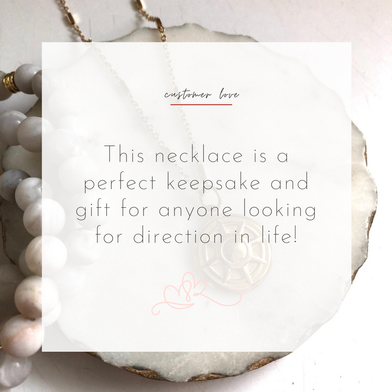 The Navigator Necklace - Alexandra Kathlyn Accessories