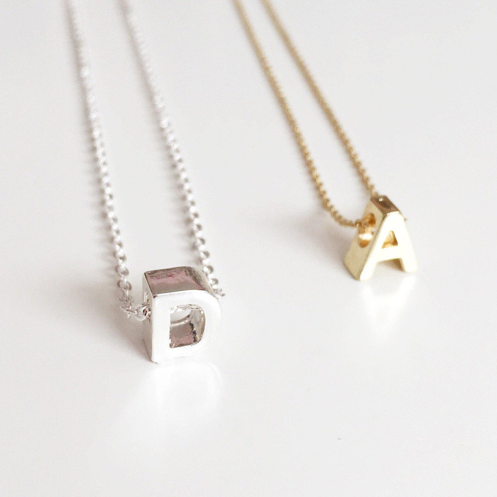 Initial Necklace - Alexandra Kathlyn Accessories  - 3