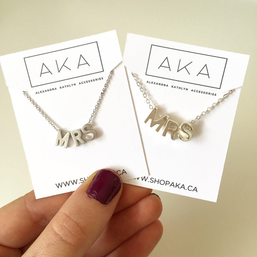 Mrs. Necklace - Alexandra Kathlyn Accessories  - 2