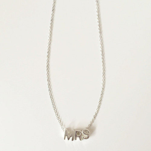 Mrs. Necklace - Alexandra Kathlyn Accessories  - 1