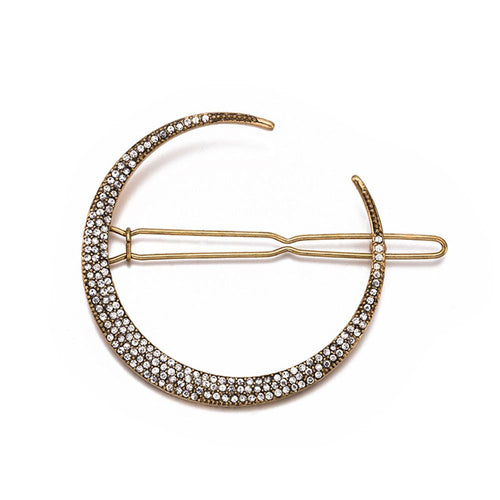 Moonlit Hair Clip-Hair Accessories-Alexandra Kathlyn Accessories