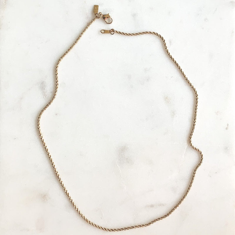 Wheat Chain Necklace