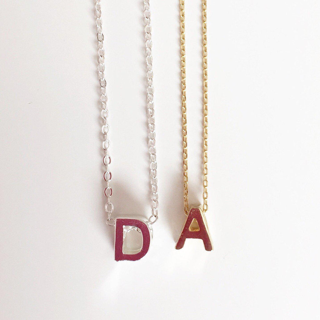 Initial Necklace - Alexandra Kathlyn Accessories  - 1