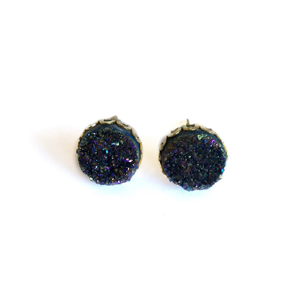 druzy earrings alex kathlyn aka jewelry