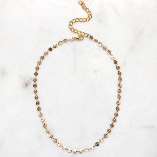 Mini Penny Coin Necklace - Alexandra Kathlyn Accessories