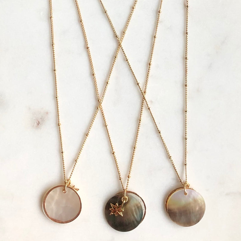 5 in 1 Shell Necklace-Necklace-Alexandra Kathlyn Accessories