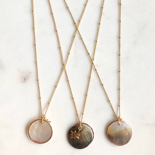 5 in 1 Shell Necklace