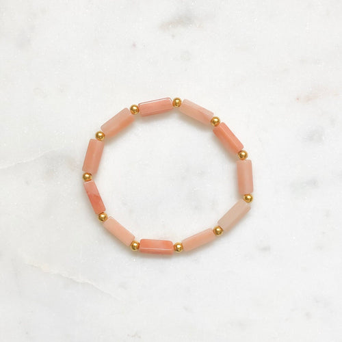 Summer Stacker - Pink Aventurine