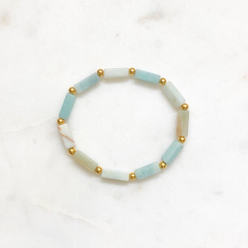 Summer Stacker - Amazonite