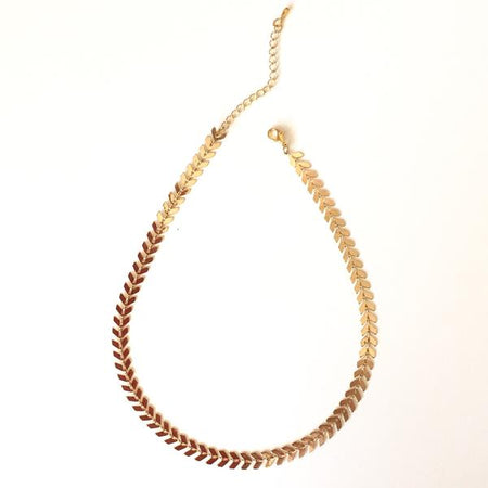 Blooming Dahlia Lariat Necklace
