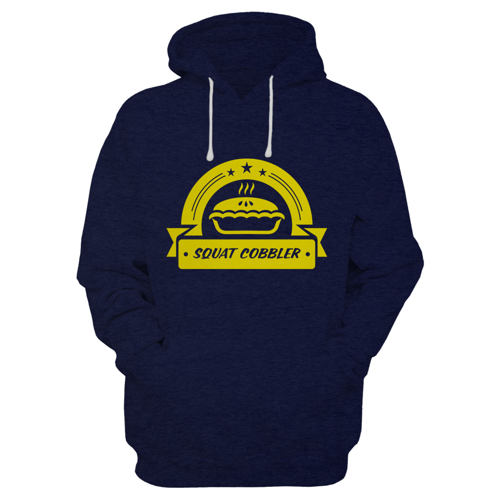Squat Cobbler Hoodie - ONLY 37 out of 52 left!
