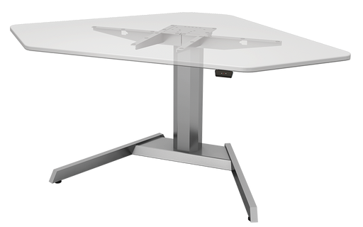 Esiergo - Electric Table Bases Tables CORE-SLV