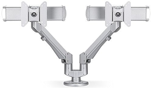 ESI Ergo EDGE2-MS-SLV EDGE-Series Dual Monitor Arm