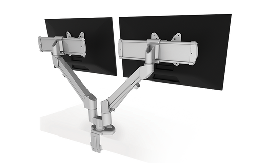 Esiergo - Dual Monitor Arms EDGE2-MS-WHT