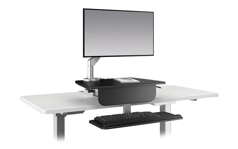Esiergo - Sit-To-Stand Desktop Solutions Technology Solutions LIFT-SLV