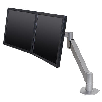 "Innovative 7500-Wing Dual Monitor Arm with 27"" Reach"