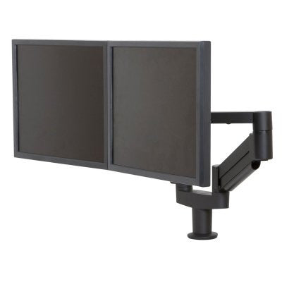 "Innovative 7000-8408 Dual 7000 LCD Monitor Arm Mount - 24"" Reach"