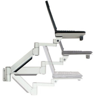 Innovative 7011-8252 Height Adjustable Laptop Arm with Oversize Tray