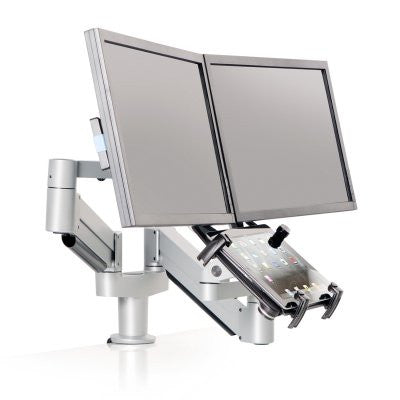Innovative 7050-Switch Height Adjustable Dual LCD & Tablet Mount