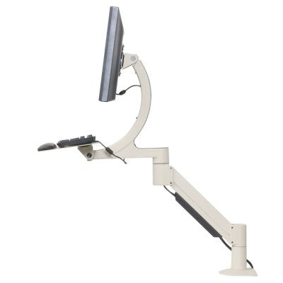 Innovative 7520 Sit-Stand Data Entry LCD Arm with Keyboard Tray