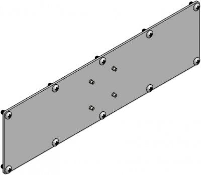 Innovative 7VESA1x4 VESA Adapter Plate 100x400 mm