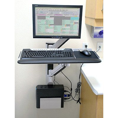 "Innovative 8326-13 Vertical 13"" Wall Track System, 7000 LCD Arm"