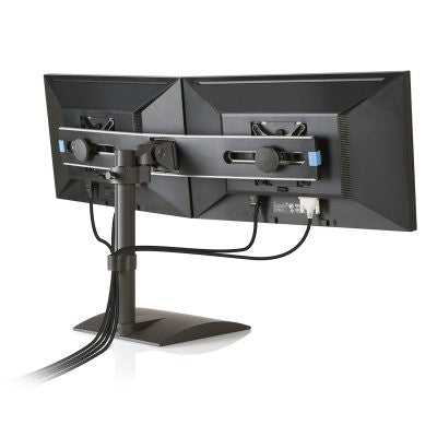 "Innovative 9109-Switch Freestanding Dual Monitor Stand- 14"" Pole"