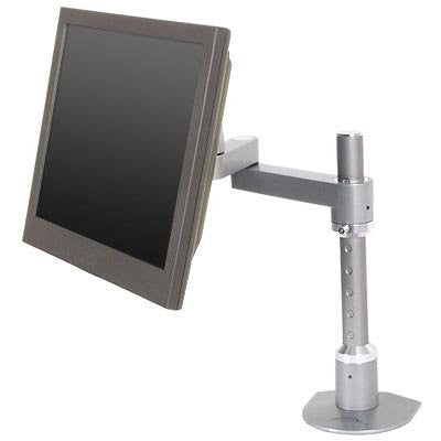 "Innovative 9114-S-14 EURO Series Articulating Monitor Mount 14"" Pole"