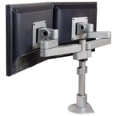 "Innovative 9120-S-14 Side-by-Side Dual Monitor Mount - 14"" Pole"