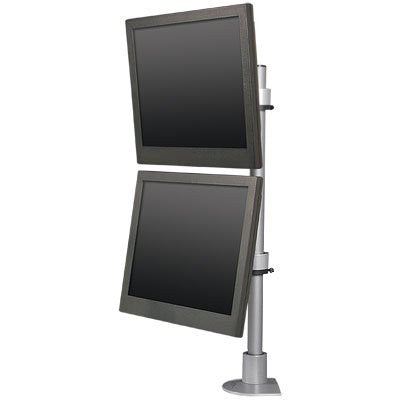 Innovative 9136-D-28 Articulating Dual 28 inch Flat Panel Pole Mount