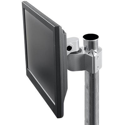 Innovative 9170 Pole Clamp for Monitors with Pivot and Tilt