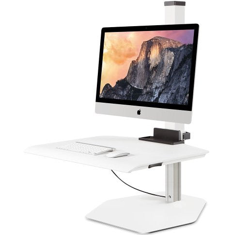 Innovative Apple iMac VESA Single or Dual Sit-Stand Workstation
