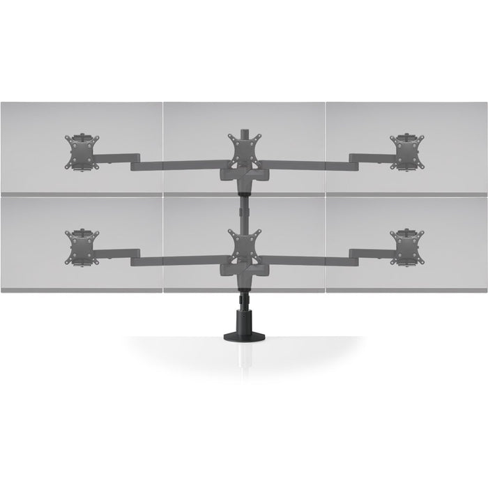Innovative STX-33S Staxx 3 Over 3 Monitor Mount - Standard