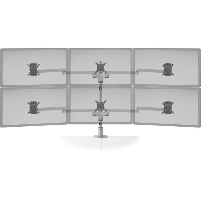 Innovative STX-33W Staxx 3 Over 3 Monitor Mount - Wide