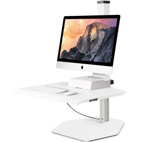 Innovative Winston Apple iMac Freestanding Sit-Stand Workstation