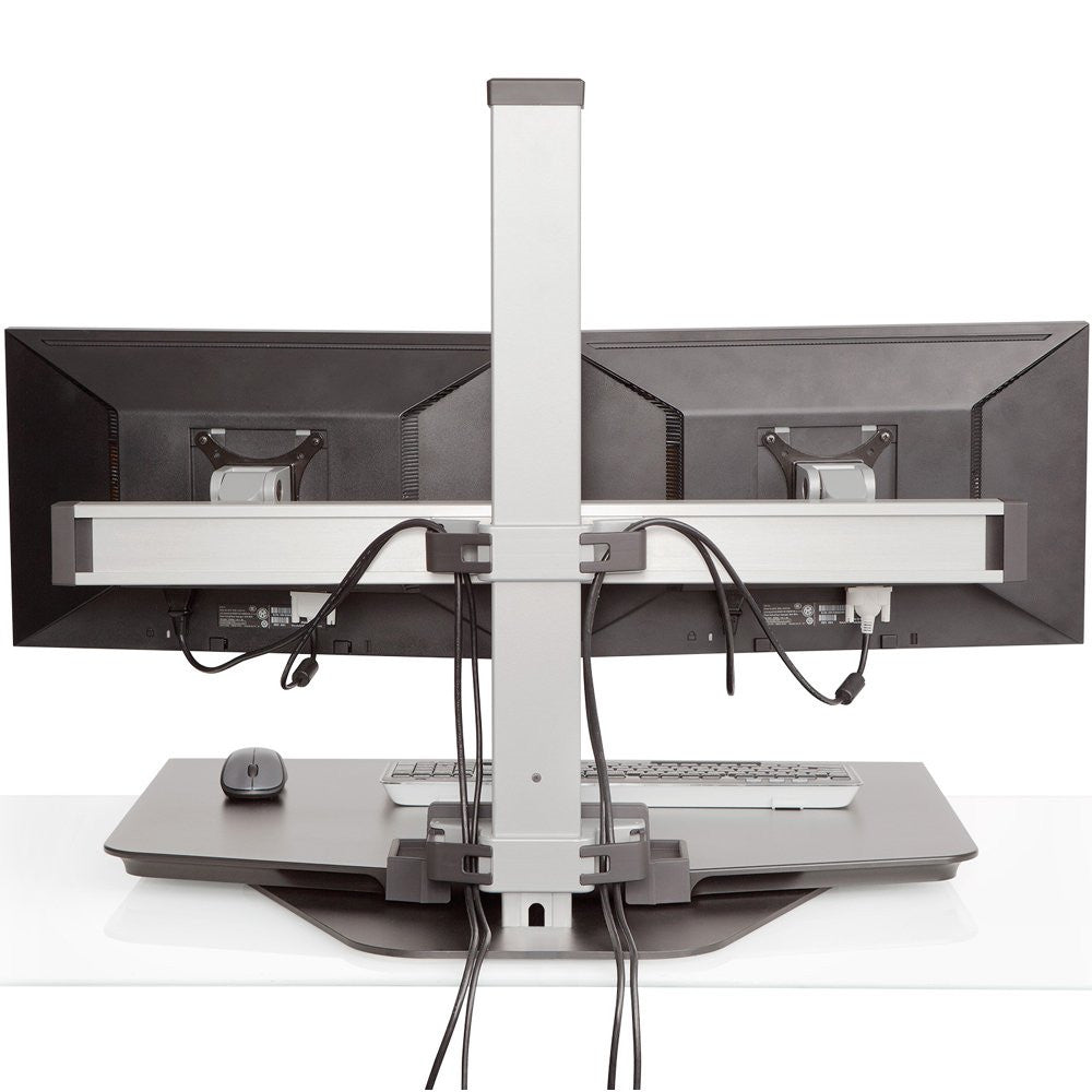 Innovative Winston Single Monitor Sit Stand Workstation