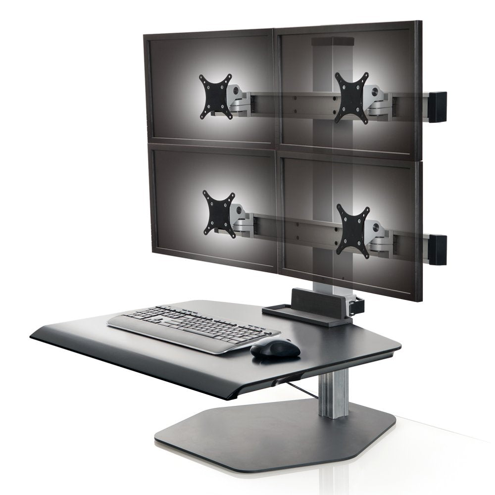 Innovative Winston Quad 2/2 Freestanding Sit-Stand Workstation