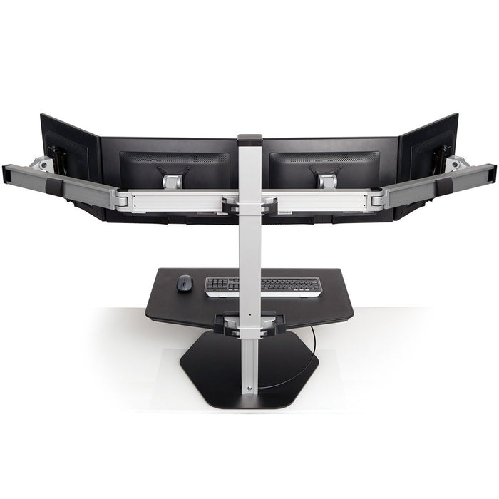 Innovative Winston Quad Monitor Sit-Stand Workstation